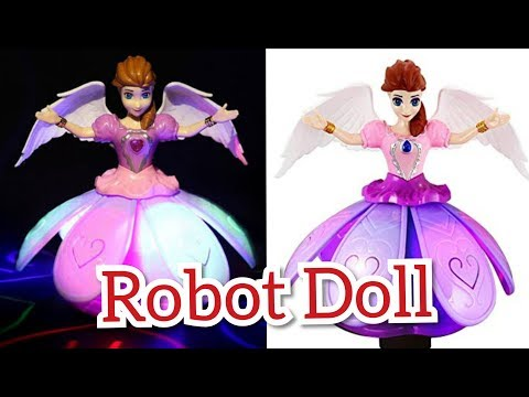 Dance princess robot doll unboxing and installation #doll #Princessdoll #dgfacts #robotdoll