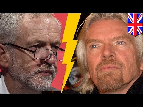 Jeremy Corbyn v Richard Branson: 'Traingate' feud sees Virgin tycoon battle Labour leader - TomoNews
