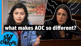 What makes AOC's career unique? | Stay Curious