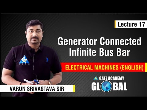 Generator connected Infinite bus Bar | Lecture 17 | Electrical Machines