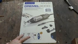 The Dremel 4000 4/65 Kit - A great Starter Set - See it in action!