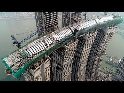 Das kann man nur in China sehen! Horizontaler Wolkenkratzer