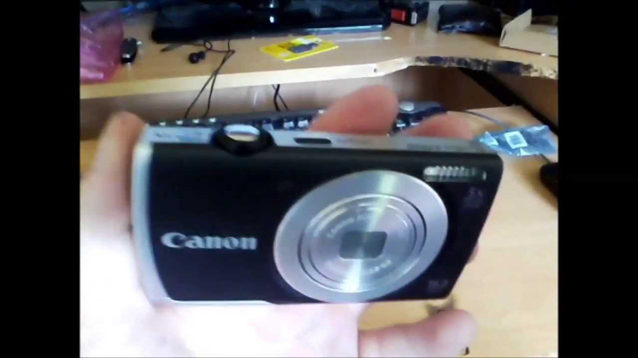 Canon PowerShot A2500 16MP Digital Camera Unboxing