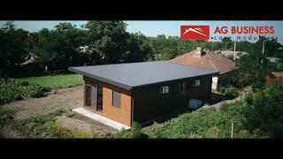 Casa modulara in comuna Romanu - Braila AG Business