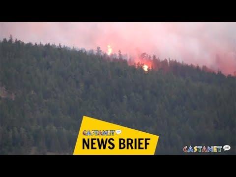 Okanagan wildfire activity