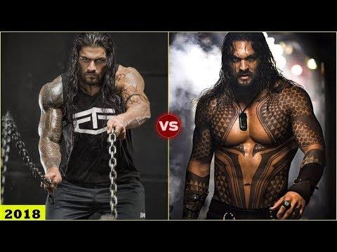 ROMAN REIGNS vs JASON MOMOA Transformation 2018 [HD]