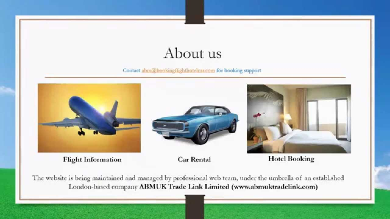 Booking Flights And Hotels Rouydadnews Info