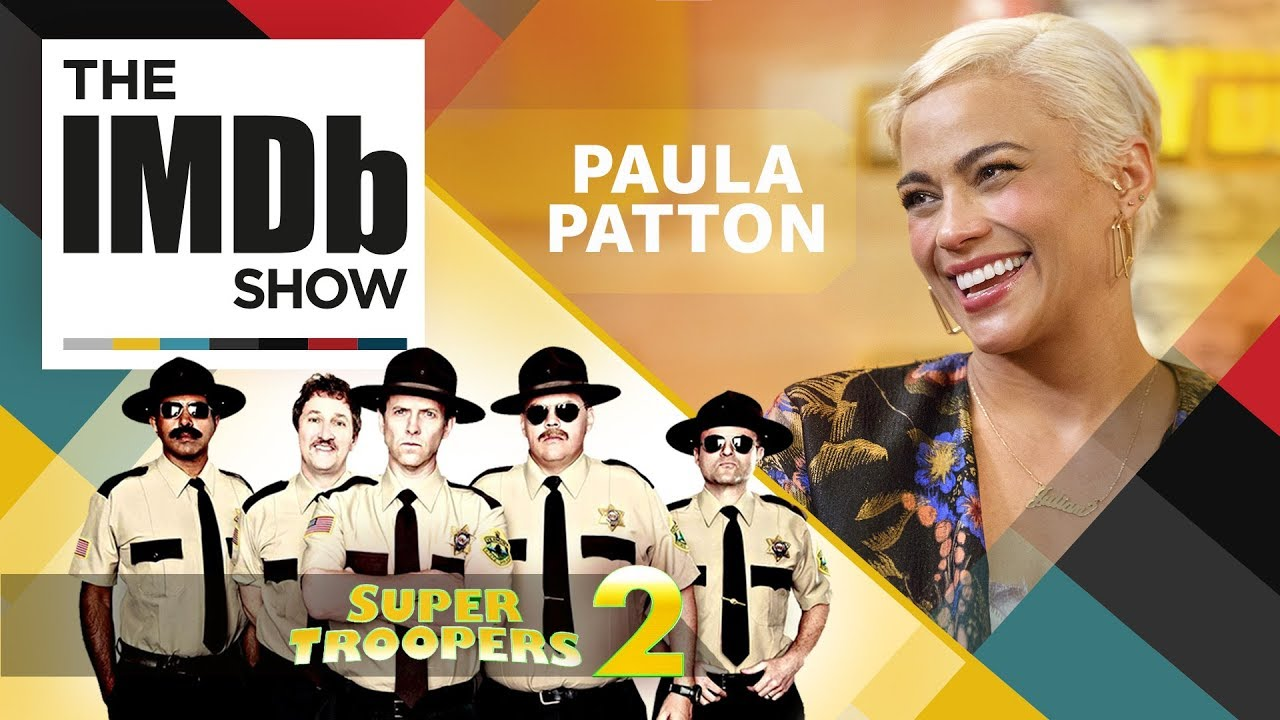 Paula Patton, 'Super Troopers 2,' and