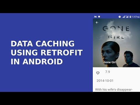 DATA CACHING USING RETROFIT IN ANDROID