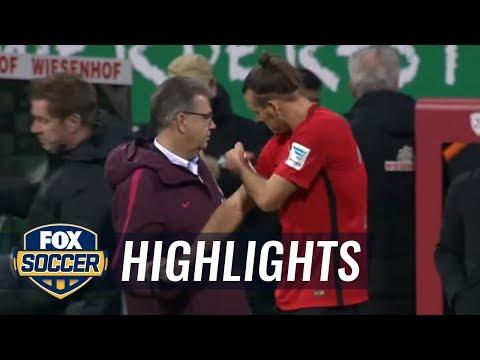 Werder Bremen vs. Eintracht Frankfurt | 2016-17 Bundesliga Highlights