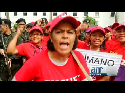 Desata risas ejercito cívico militar en Venezuela   - América TeVé