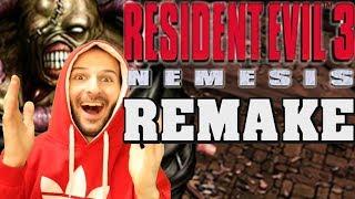 ¡CAPCOM VA A HACER RESIDENT EVIL 3 REMAKE! - Sasel - re 2 remake - noticias - español - nemesis