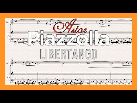 Libertango (Astor Piazzolla) - violín y piano