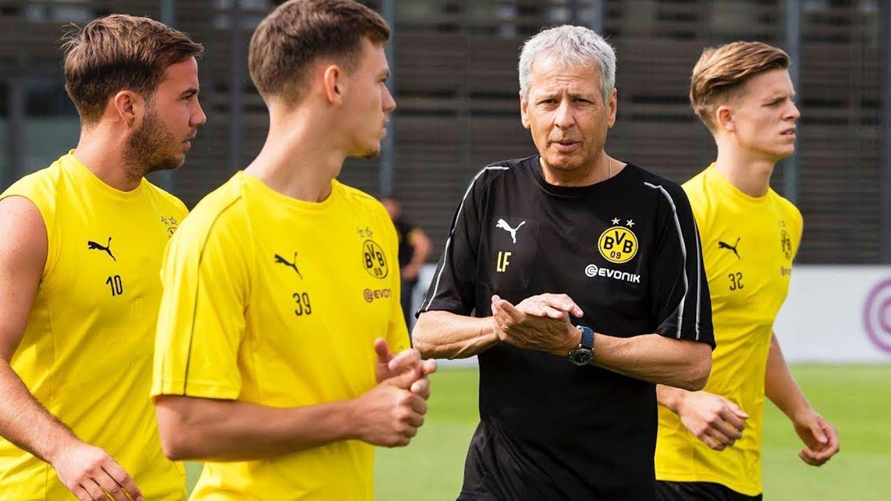 Das erste BVB-Mannschaftstraining unter Lucien Favre in voller Länge!