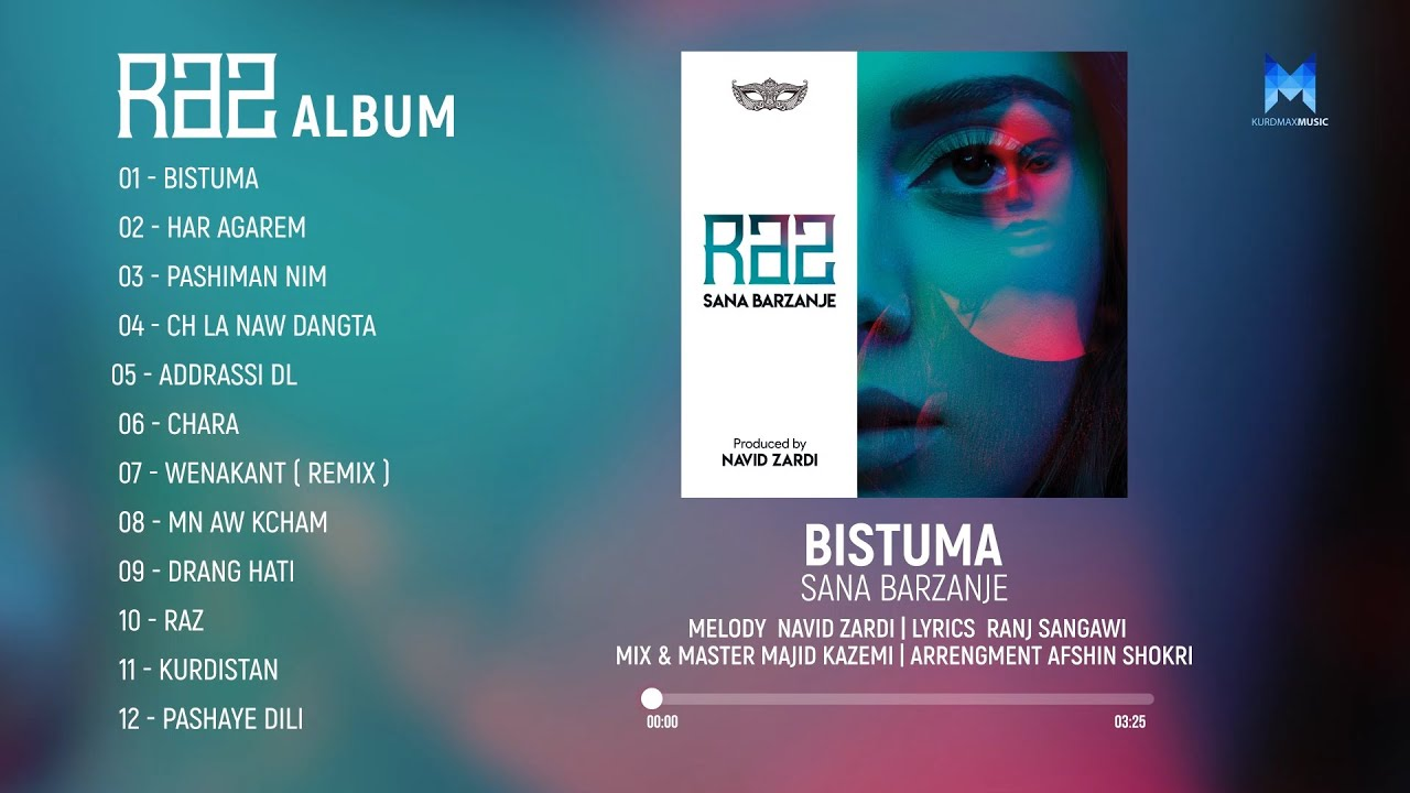 Sana Barzanje - Raz Album All Tracks