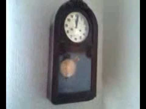 Reloj de pared antiguo youtube for Reloj de pared antiguo