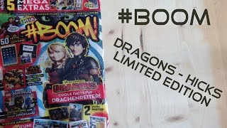 #BOOM -Dragons HICKS Limited Edition [ Opening / Unboxing ]