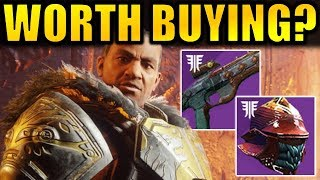 Destiny 2: Iron Banner Vendor Review! (October 2018) | Forsaken