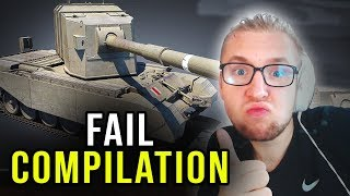FAIL COMPILATION - World of Tanks