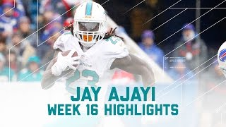 Jay Ajayi Explodes for 206 Yards!   Dolphins vs. Bills   NFL Week 16 Player Highlights