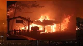 Cháy rừng tại Hàn Quốc hơn 4 000 người phải sơ tán gấp