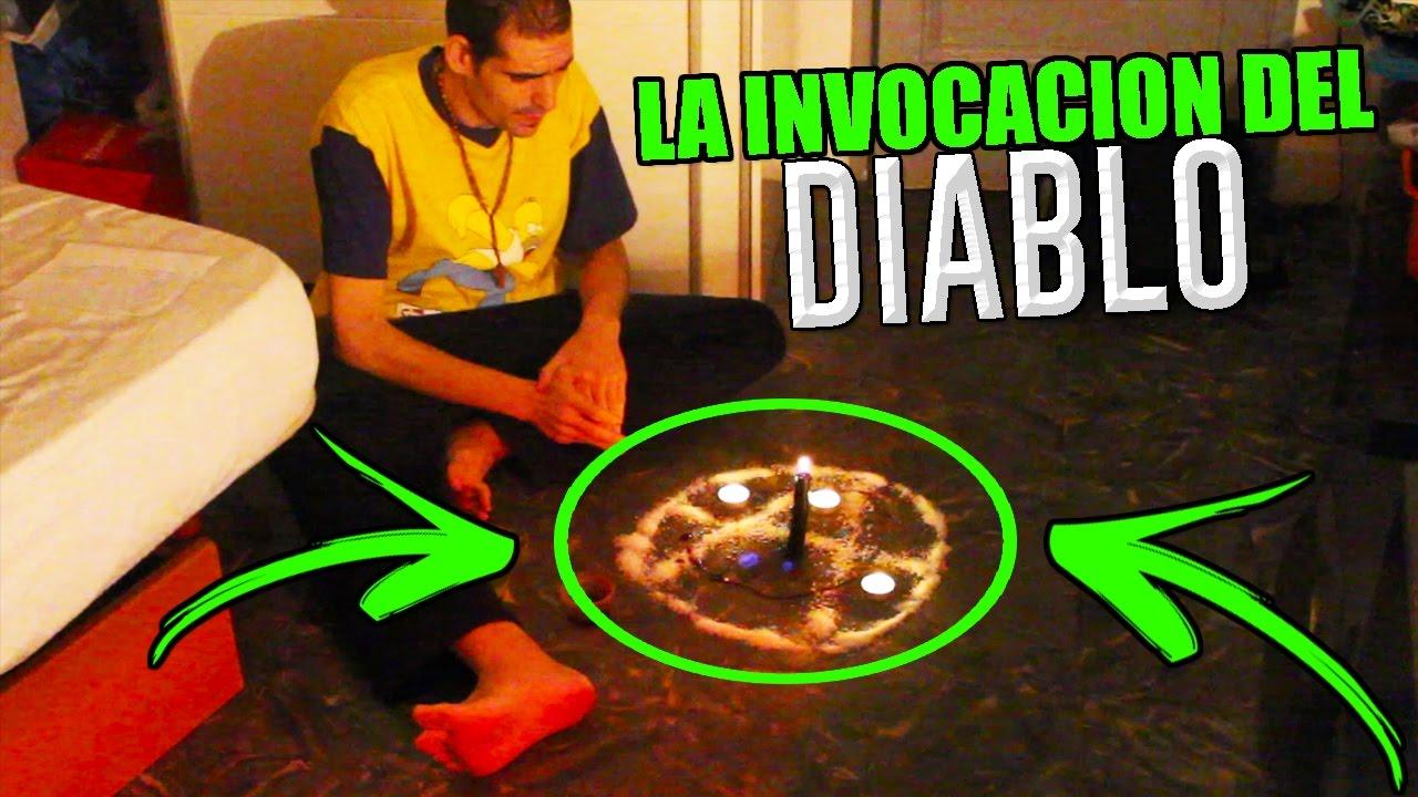 LA INVOCACIÓN DEL DIABLO - INVITO A SATAN A MI CASA | Invocaciones paranormal y ritual creepy
