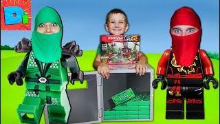 Лего Сити СейФ Ниндзяго Фильм В Поисках Второго Клада  Веселые Приключения Счастливые Детки