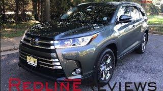 2018 Toyota Highlander Limited – The Safe Choice