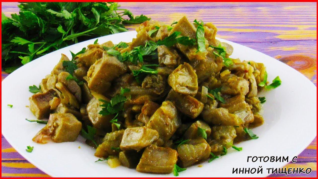Баклажаны как грибы, жареные с луком | Как приготовить ...