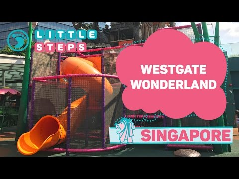 Singapore's LARGEST OUTDOOR PLAYGROUND at Westgate Wonderland And Westgate Kids Club