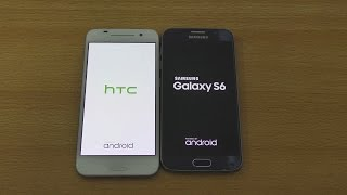HTC One A9 vs Samsung Galaxy S6. A Speed and camera test between Ga...