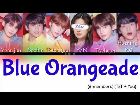 'Blue Orangeade' Txt (You As A Member) (TXT + You)  Han/Rom/Eng Lyrics