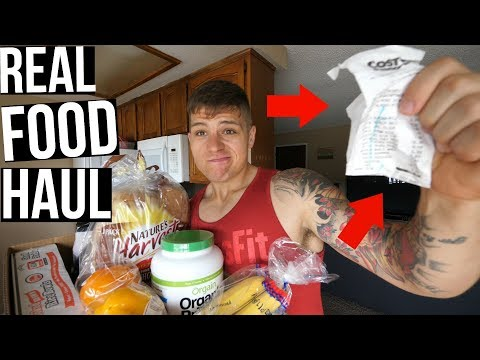 """My """"Weight Loss"""" Grocery Haul & Price!"""