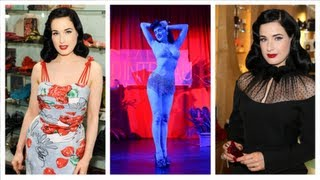 Dita Von Teese Reveals Skin Care Secrets and Beauty Mantras