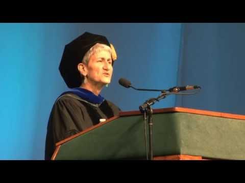 Binghamton University Commencement Spring  - Shari Lawrence Pfleeger Alumni Award Recipient