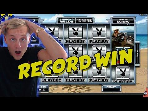 RECORD WIN 6 euro bet BIG WIN - Playboy HUGE WIN epic reactions