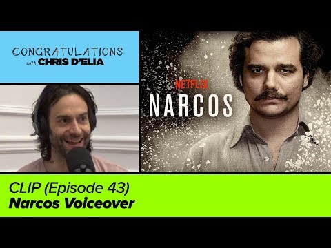 CLIP: Narcos Has the Best Voiceover - Congratulations with Chris D'Elia
