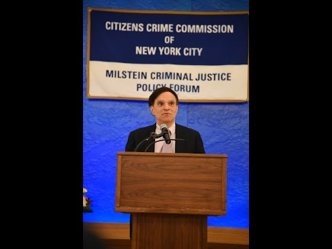 Citizens Crime Commission Milstein Forum featuring 2nd Circuit Chief Judge Robert A. Katzmann