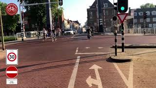 Morning bike ride in 's-Hertogenbosch