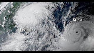 Typhon LEKIMA : impact inéluctable et imminent sur la Chine