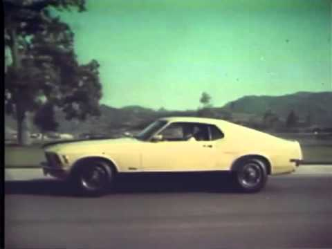 1970 Ford Mustang Tv Ad Commercial 2 4 Youtube