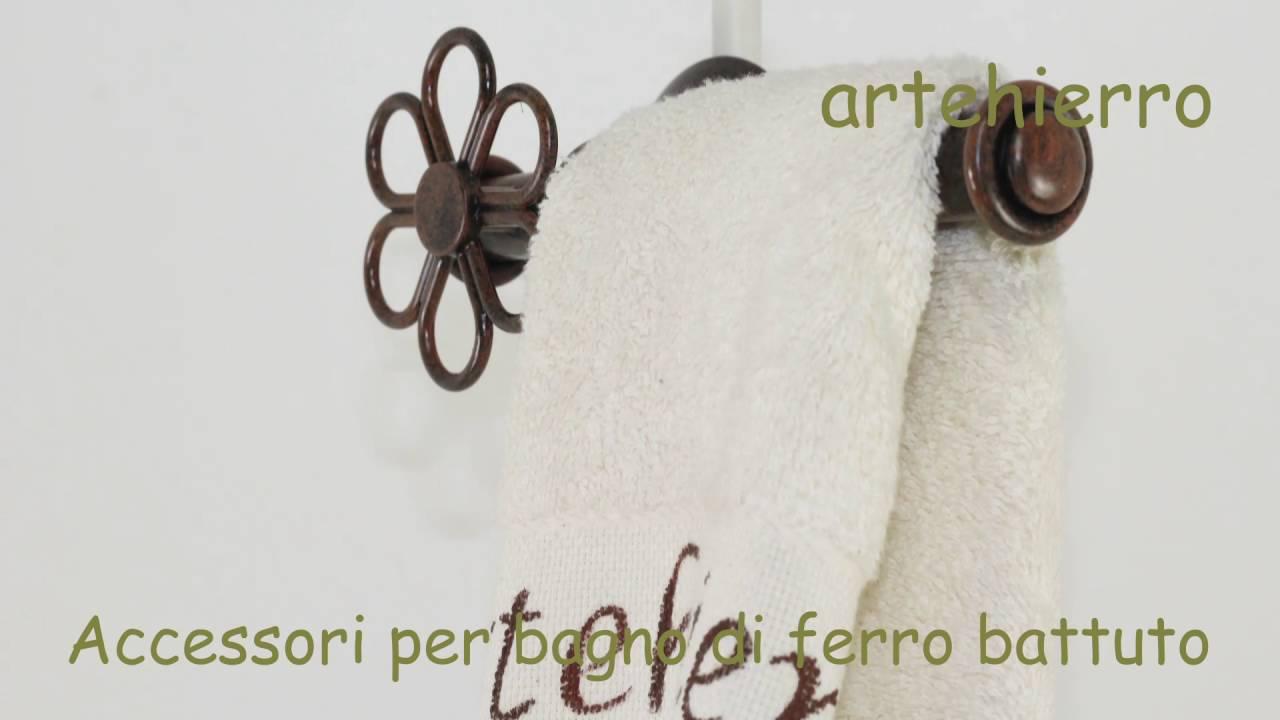 Accessori per bagno di ferro battuto nel forgiare youtube - Accessori bagno in ferro battuto ...