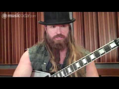 Zakk Wylde's new Epiphone Graveyard Disciple guitar