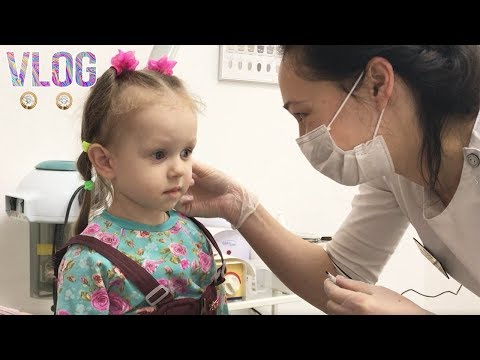 Vlog: ПРОКАЛЫВАНИЕ УШЕЙ Полина Плакала или нет / Сережки / Ear Piercing.Ear Piercing Children