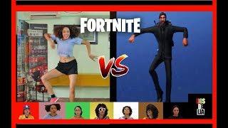 FORTNITE DANCE CHALLENGE LATINO! | LIOSDELIA