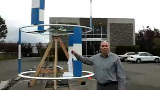"Vertical Axis Wind Turbine  (VAWT) Russian Design ""STRIBOG"" 3,0 (6) 3,0kW"