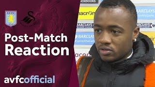 Video Gol Pertandingan Aston Villa vs Swansea City
