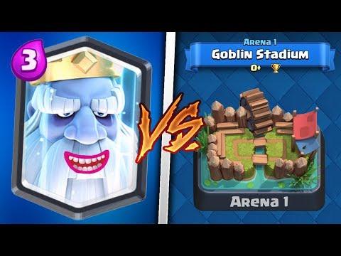 Royal Ghost Trolling Arena 1 in Clash Royale | Legendary Troll Deck