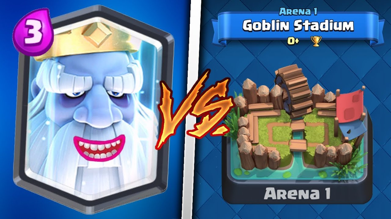 royal ghost trolling arena 1 in clash royale legendary