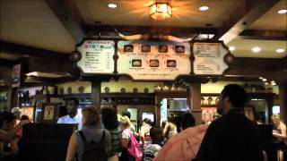 Pecos Bill Tall Tale Inn and Cafe in Magic Kingdom (HD 1080p)